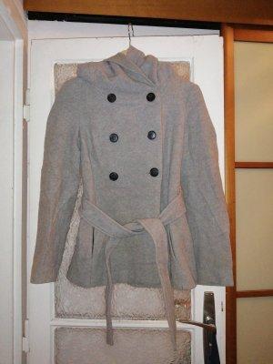Hellgrau melierte Jacke von Zara, Größe S