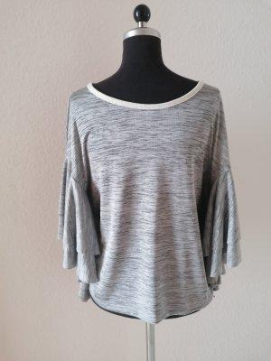 More & More T-shirt srebrny-jasnoszary