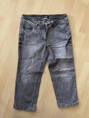 Cecil Jeans a 3/4 grigio chiaro