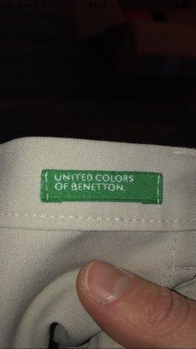 Hellgraue Anzug Hose von Benetton