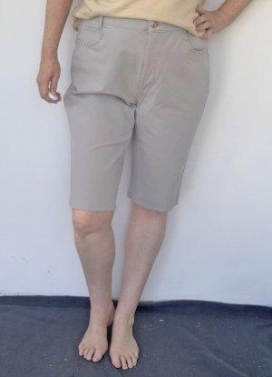 Peter Hahn Bermuda grigio chiaro Cotone