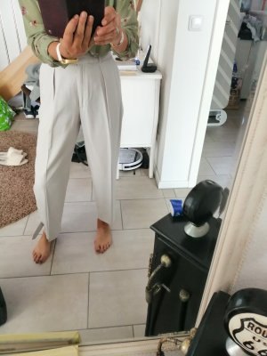 Topshop Jersey Pants light grey