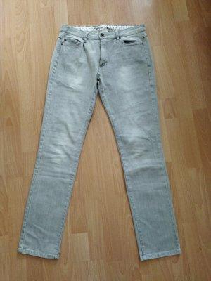 Active wear Jeans elasticizzati grigio chiaro
