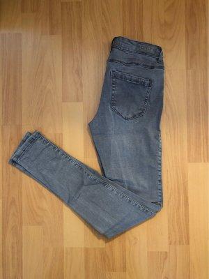 only jeans Pantalón elástico gris claro