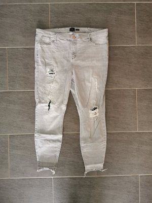 Hellgraue Jeans River Island plus