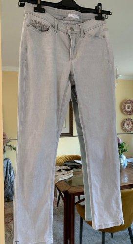 Cambio Stretch Jeans light grey