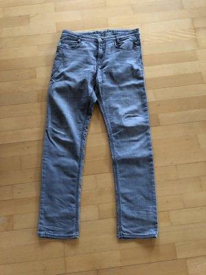 MAC Jeans Jeans elasticizzati argento Tessuto misto