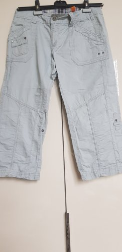 Street One Pantalone a 3/4 grigio chiaro