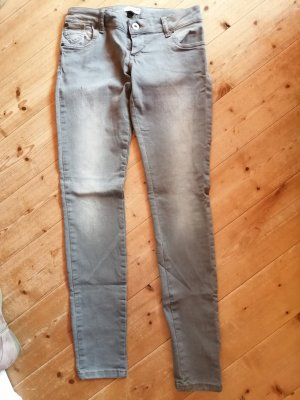hellgraue Tigerhill Jeans