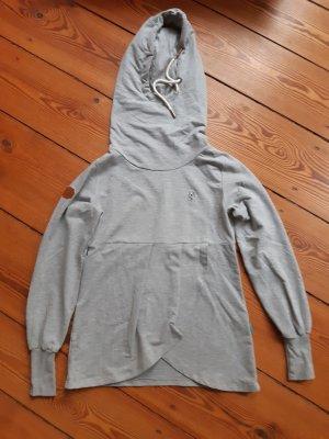 Hellgrauer Babydoll-Pullover von Naketano