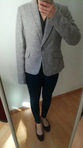 Comma Wool Blazer light grey wool