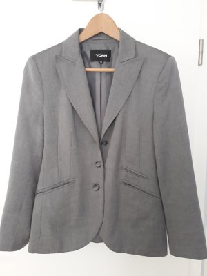 Yorn Business Suit light grey viscose