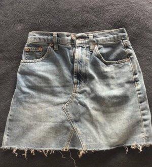 BDG Jupe en jeans bleu pâle