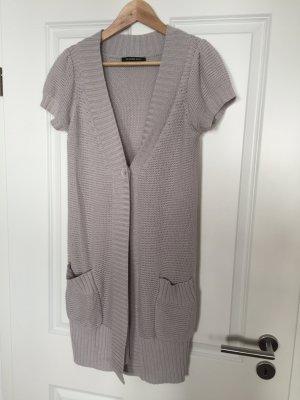 Hallhuber Veste tricotée en grosses mailles multicolore tissu mixte
