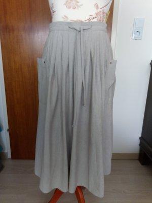 Canda Flared Skirt light grey acetate