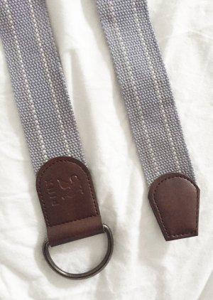 Pasek z materiału Wielokolorowy Tkanina z mieszanych włókien