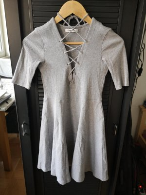 Glamorous Cut Out Dress light grey