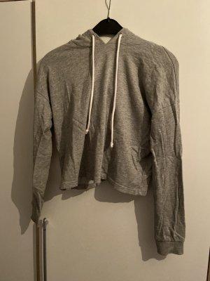 H&M Top à capuche gris clair