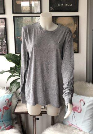 Hellgraues Longsleeve Shirt L