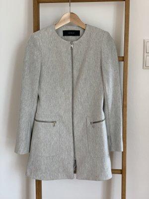 Zara Cappotto corto grigio chiaro