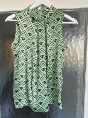 Hellgrüne Ärmellose Bluse