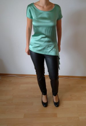Hellgrüne Bluse Hallhuber XS