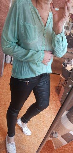 Hellgrüne Bluse von Garcia Jeans Gr L