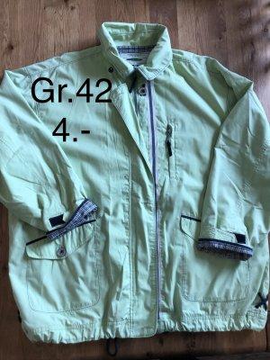 Hellgrüne dünne Damen Jacke Gr.42 nur 4.-