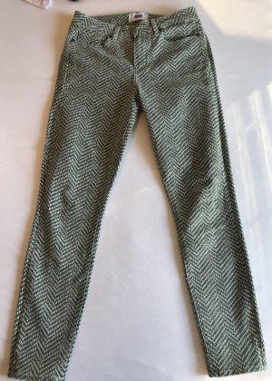 hellgrüne Jeans von Paige
