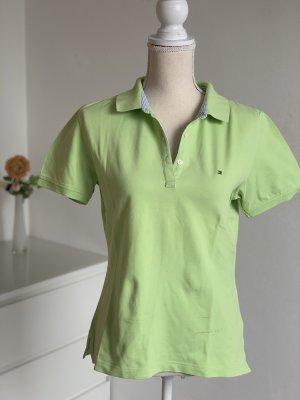 Hellgrünes Poloshirt von Tommy Hilfiger