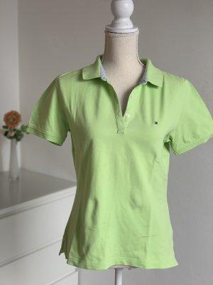 Hellgrünes Poloshirt von Tommy Hilfiger Gr. M