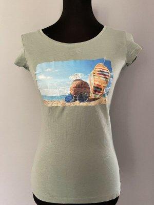 Hellgrünes T-Shirt von H&M, Gr. S