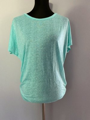 H&M Sport Sports Shirt turquoise polypropylene