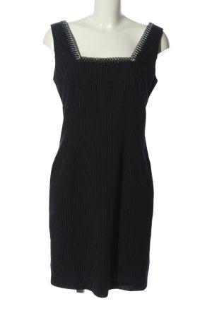 Helline Kostüm schwarz Streifenmuster Business-Look
