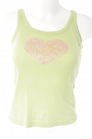 Helline Tanktop blassgrün-rosa Casual-Look