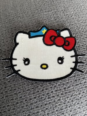 Hello kitty Spinka czarny-biały