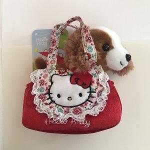 Hello Kitty Mini Tasche mit einem Kuscheltier