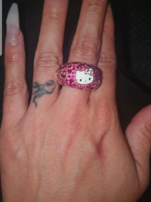 Hello Kitty Ring Swarovski 52