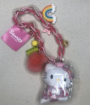 Hello kitty Key Chain pink