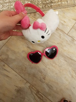 Hello kitty Zonnebril roze