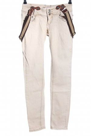 Hello Miss Five-Pocket-Hose wollweiß Casual-Look
