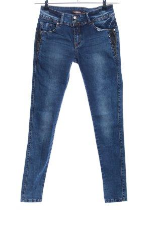 Hello Miss Skinny Jeans blau Casual-Look