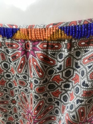 Pepe Jeans Jupe asymétrique multicolore soie