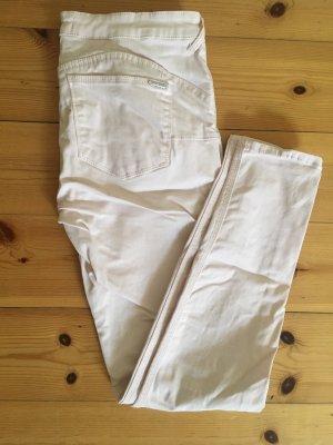 Hellrosa farbene Skinny- Shaping Jeans von Mango, Gr.40