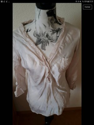 Made in Italy Blouse à enfiler rosé