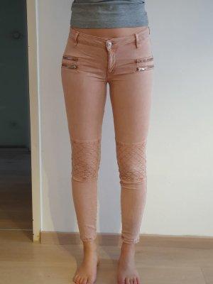 Zara Woman Pantalone a vita bassa multicolore