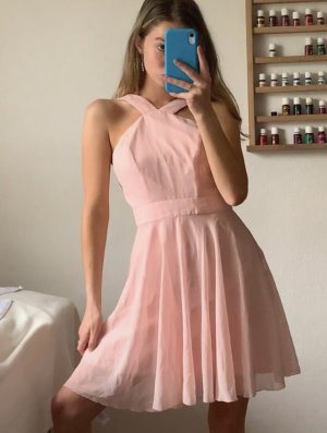 Hellrosa Mini Kleid