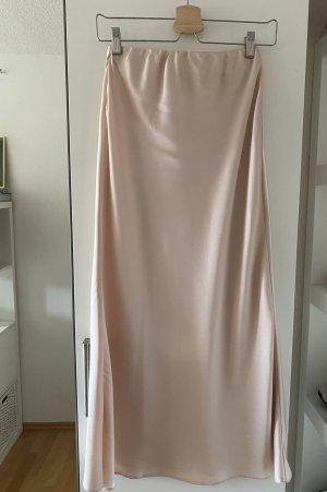 ASOS DESIGN Midi Skirt pink polyester