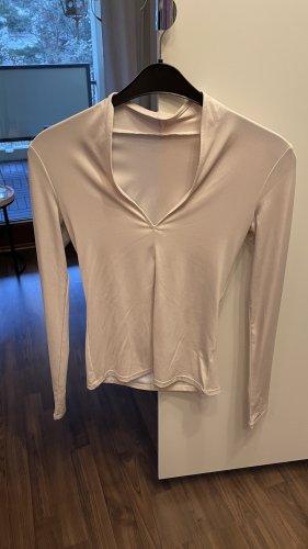 Hellrosa Shirt mit tollem Kragen