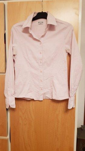 Hellrosafarbene Strech-Bluse Gr.38